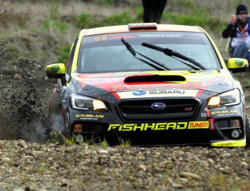 Persistence pays off for the Seehorn Rally Team