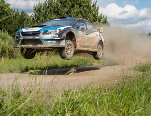 Subaru driver Higgins earns third straight STPR victory